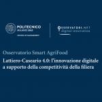 Benefici per oltre 100 milioni di euro: l'Osservatorio Smart Agrifood misura le potenzialità del digitale nel Lattiero Caseario 4.0