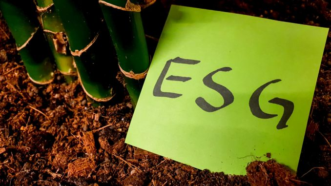 ESG Environmental Social Governance