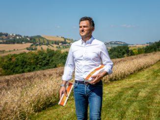 Massimo Mancini, agronomo e titolare dell'omonimo pastificio